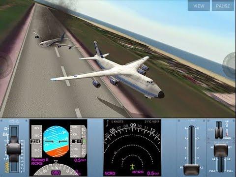Extreme Landings - Antonov 124/R-128C - Jakarta to Surabaya - No Failure