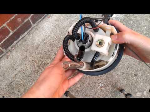 2005 mazda 6 1.8 fuel pump lf17880550 100140f40 - youtube 2000 mazda mpv fuel filter location #8