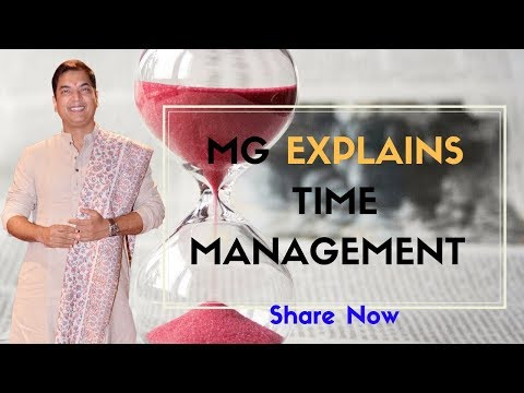Mr. Manish Gupta Explains About Time Management | Time Videos | Powerful Hindi Video
