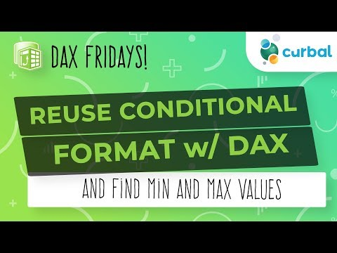 DAX Fridays! #128: Conditional format MAX and MIN values in Power BI