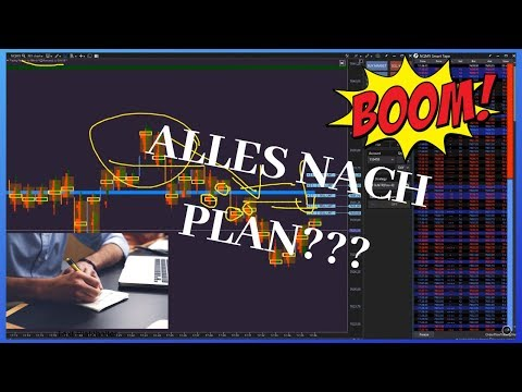 🔥➤+ ????,- NASDAQ (NQ) LIVE TRADE | ALLES LÄUFT NACH PLAN???  | VOLUMEN UND ORDER FLOW TRADING🔥