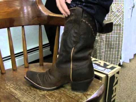 Ariat Boots for Women - Dixie Style - YouTube