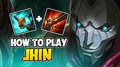 How to Play JHIN ADC for Beginners | JHIN Guide Season 10 | League of Legends