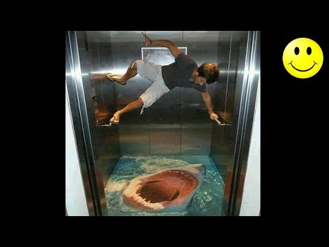 Best Of Elevator Pranks | Ultimate Elevator Funny Scare Prank Compilation 2016 - YouTube