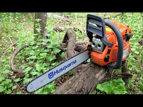 Husqvarna 440E Unboxing And First Test Cuts