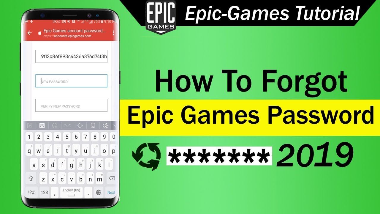 How To Forgot Epic Games Password 2019 - YouTube