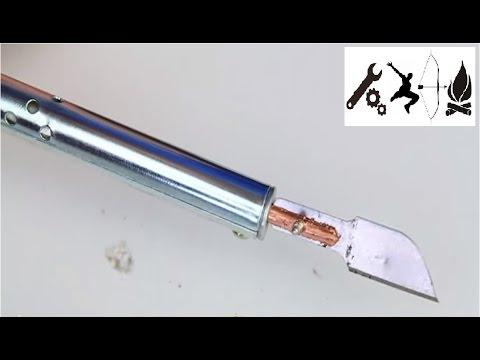 Как сделать горячий нож (нож для резки пластика)