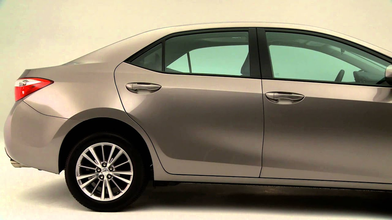 2014 Toyota Corlla Le With Brown Sugar Color Youtube