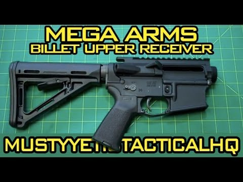 Mega Arms Billet Upper Receiver :: Musty Yeti