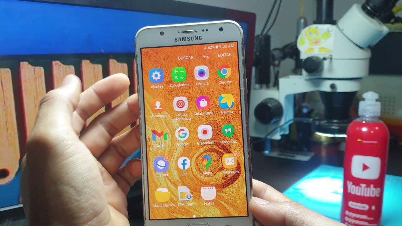 Código Secreto Para Revisar Táctil o Pantalla de Celular Samsung j7