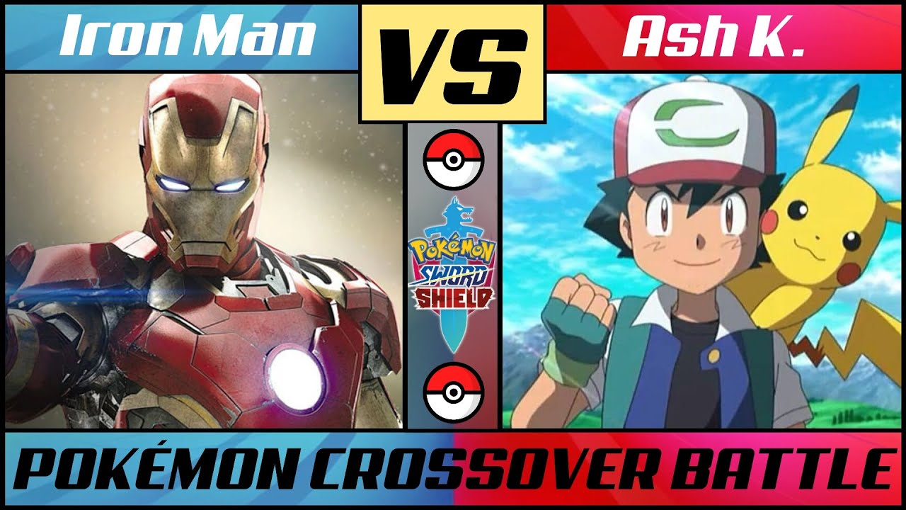 IRON MAN vs ASH K (Pokémon/Marvel Crossover)