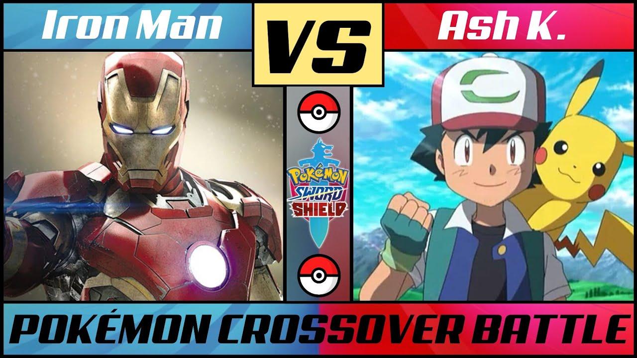 IRON MAN vs ASH K (Pokémon/Marvel Crossover)