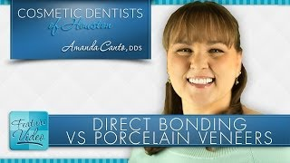 Dentist in Houston Explains Dental Bonding VS Porcelain Veneers Thumbnail