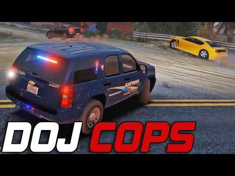 Dept. of Justice Cops #118 -  Hot Pursuit (Law Enforcement)