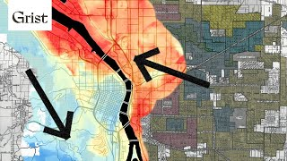 Extreme heat is worse in redlined neighborhoods