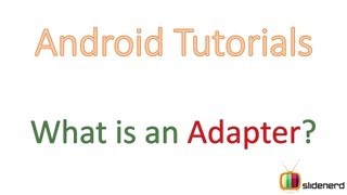 76 What is Android Adapter? |