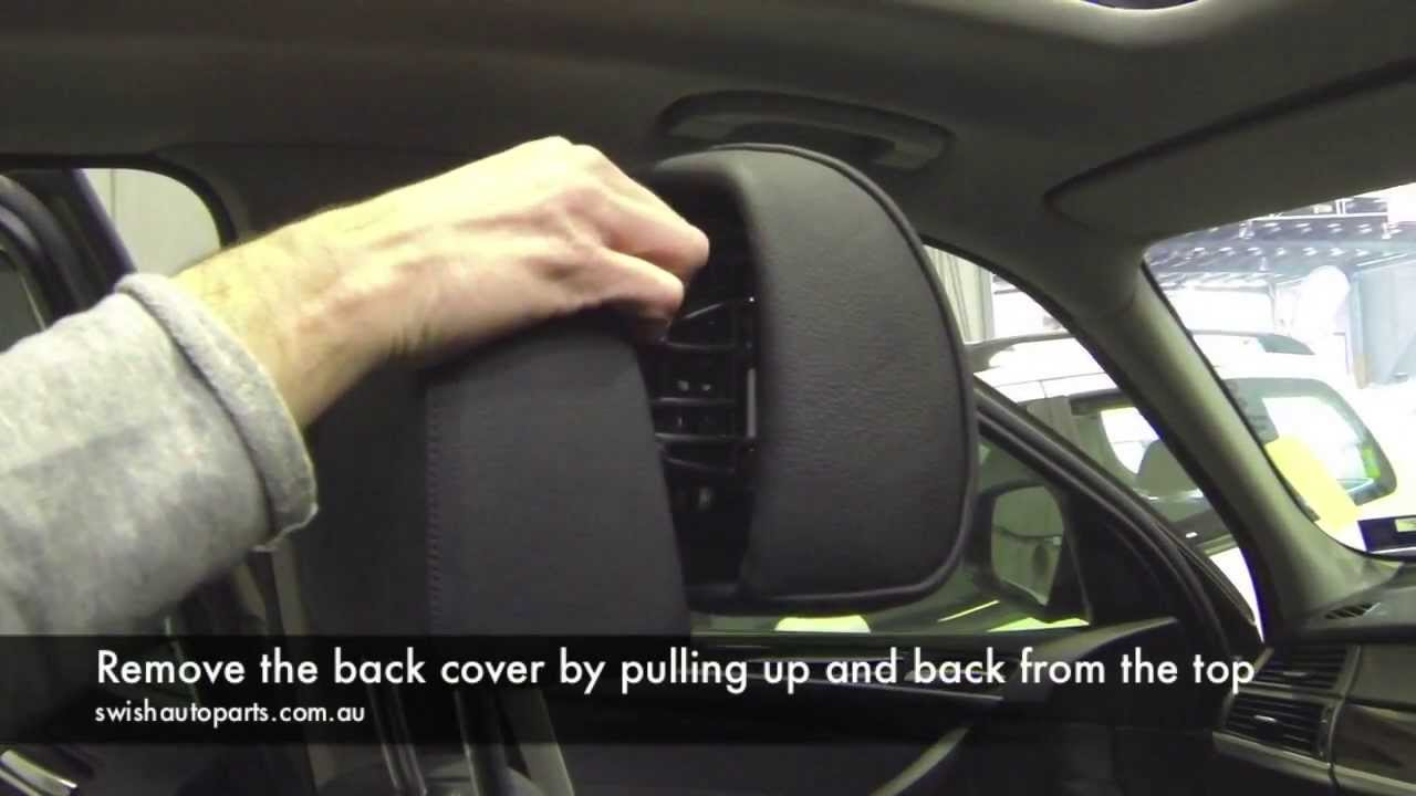 how to repair bmw active headrest [ 1280 x 720 Pixel ]