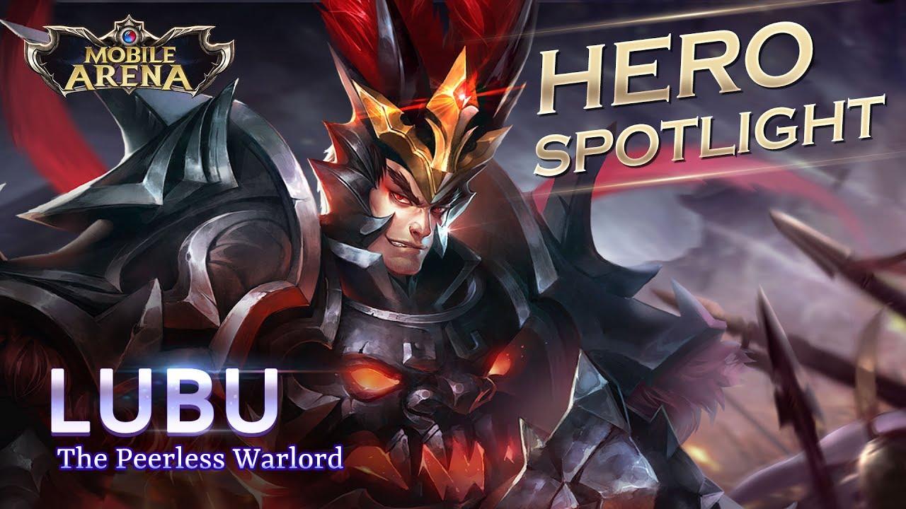 Lu Bu Hero Spotlight Garena Aov Arena Of Valor