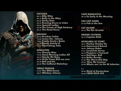 Copy of 35 Sea Shanties (57-36 full track) - AC4 Black Flag In Game Soundtrack