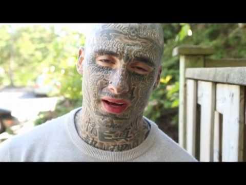 Tattooed man looks to open people's minds thumbnail