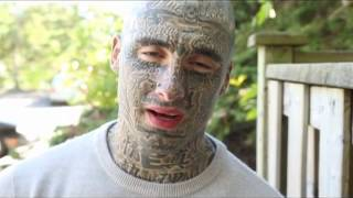 Tattooed man looks to open people's minds