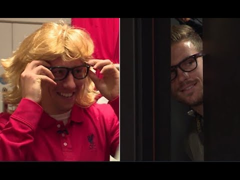 Henderson and Lucas go undercover for club shop prank!