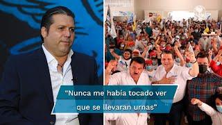 Exaspirante a la gubernatura de Sinaloa acusa robo de urnas  y secuestros a integrantes de su equipo, entre otros hechos inéditos, dice, cometidos por grupos delictivos