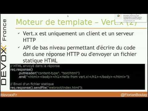 Migration d'une webapp Tomcat vers Vert.x