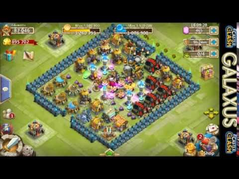 Castle Clash-Archdemon Rewards & Uncapping Vlad To 10 Star With Gems(GalaxusBliss)