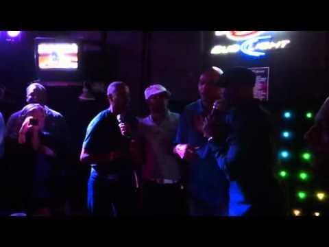 Jay Harris, Stuart Scott & Charles Barkley Karaoke