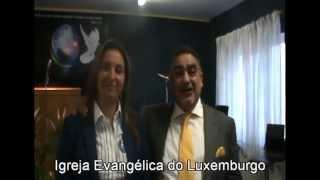 Convite Apóstolo Rui Maia Rosa e Pastora Mena