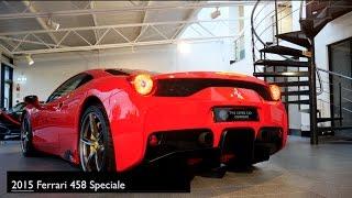 Ferrari 458 Speciale A 2015 Videos