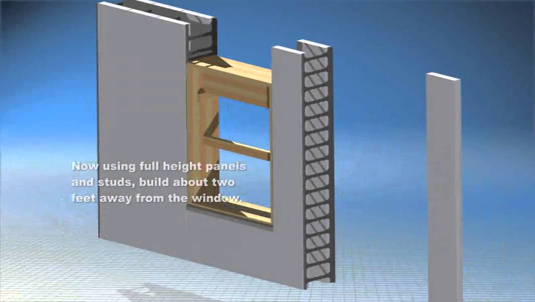 Insulated Concrete Forms Instructions For Installing A