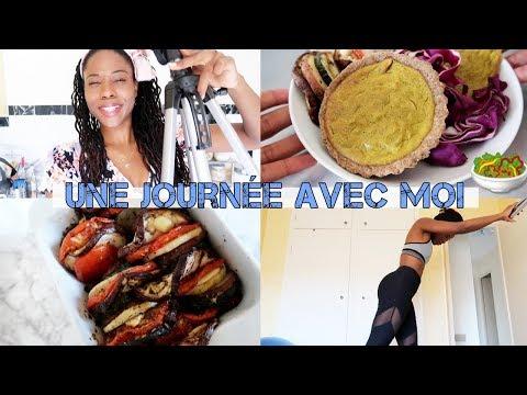vlog-:-une-journée-dans-mon-assiette-plant-based🌱-recette-flan-À-la-banane-🍌