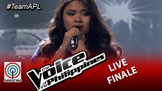 The Live Shows Top 2 Performance : All By Myself by Alisah Bonaobra (Season 2)