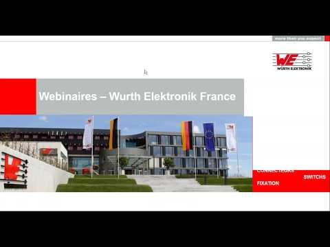 Würth Elektronik Webinaire: Transfert d'énergie sans contact. Avec ou sans standard?
