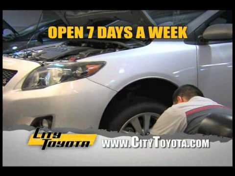 City Toyota In Daly Authorized Service Center