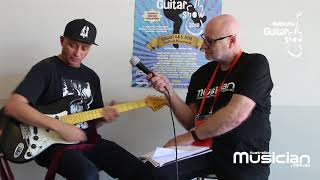 Diesel Signature Strat interview - Melbourne Guitar Show 2018