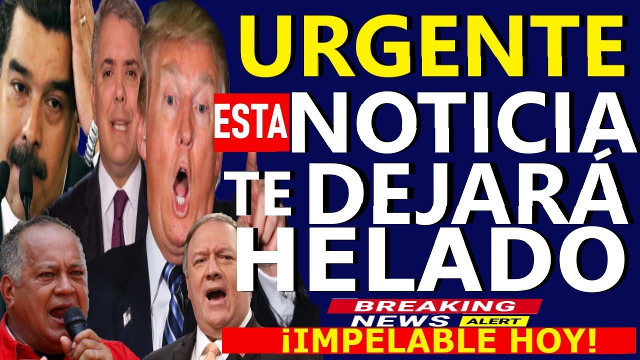 🔴HACE 5 MINUTOS, DIOSDADO CABELLO - GUAIDO HOY - DONALD TRUMP - DUQUE CONTRA MADURO - POMPEO - CITGO