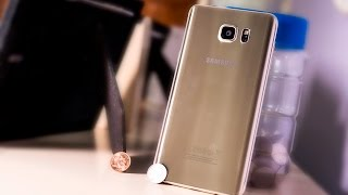 Samsung Galaxy Note 5 Gold Platinum - The Beauty