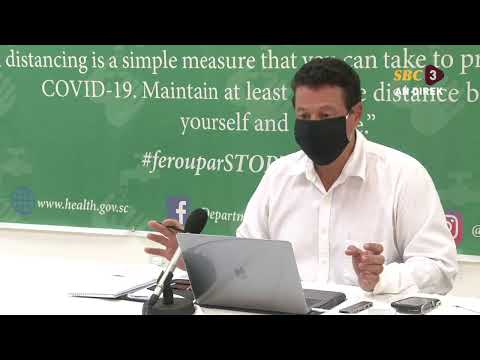 SBC | Live Press Conference- Department of health- 03.09.2020