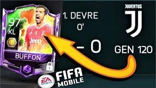 120 GEN TAKIMI YENİP EFSANE OYUNCUYU ALDIM !! Fifa Mobile