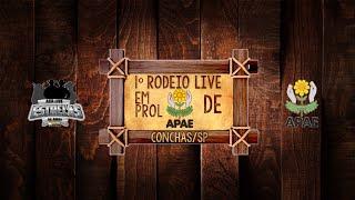 1ª Live em prol a APAE de Conchas - SP ACR Estrelas da Arena 17/07/2020