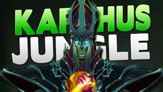 YOU DO TOO MUCH DAMAGE WITHOUT EVEN TRYING - ONE BUTTON WIN MACHINE - Karthus Jungle!