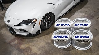 2020 GR Supra INSANE Wheel Reveal!