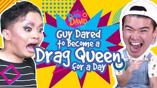 Guy Dared to Become a Drag Queen for a Day