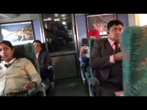New Delhi Kalka Shatabdi Executive class