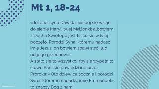 #Ewangelia | 18 grudnia 2018 | (Mt 1, 18-24)
