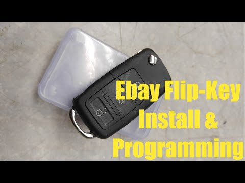 E-Bay Flip Key Install & Programming