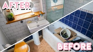 DIY Bathroom Makeover + Renovation 2018 | Becky Excell